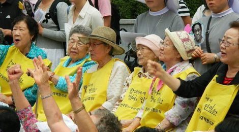 comfort women, protesta, ambasciata giapponese, seoul