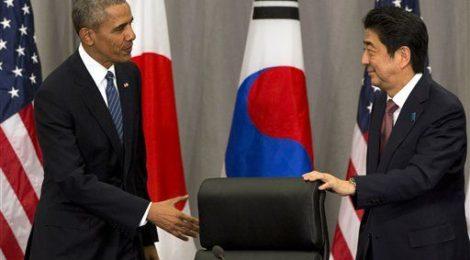 Obama, Abe, Futenma, Sicurezza