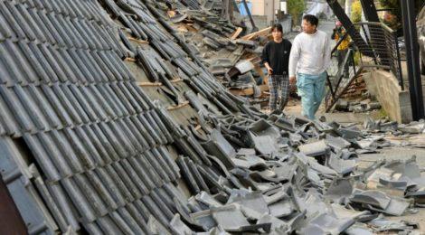 terremoto a Kumamoto