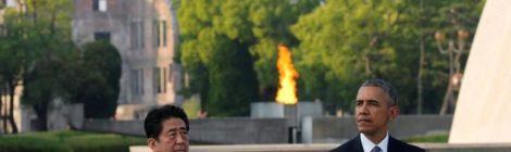 Obama, Abe, Hiroshima, bomba atomica