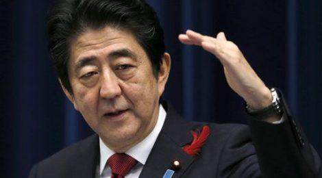 Abe, Primo ministro Giappone