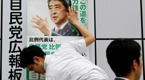 Elezioni Camera Alta, Giappone, Abe