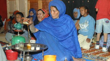 Storie del popolo Saharawi in una tazza di tè