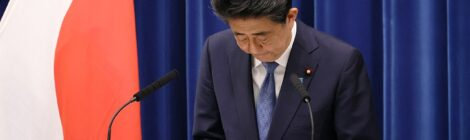 Abe_Bowing_Resignation