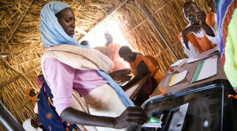 North-Darfur-Woman-Votes-Sudanese-National-Elections