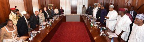 Presidenti-Jacob-Zuma-Muhammud-Buhari-Nigeria